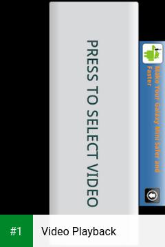 Video Playback app screenshot 1
