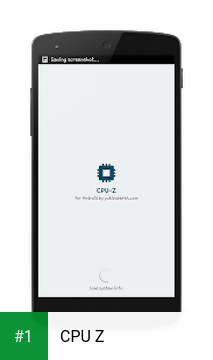 CPU Z app screenshot 1
