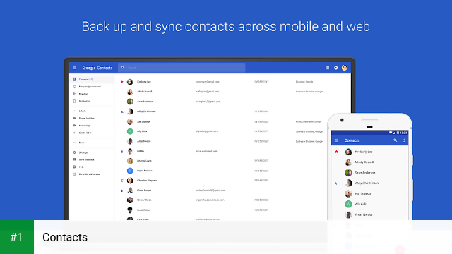 Contacts app screenshot 1