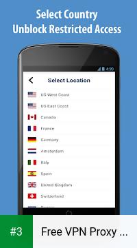 Free VPN Proxy - ZPN app screenshot 3