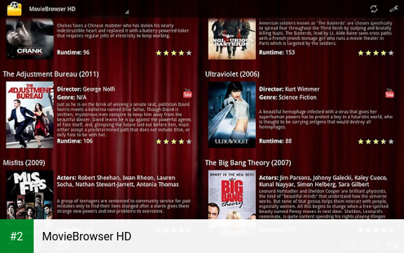 MovieBrowser HD apk screenshot 2