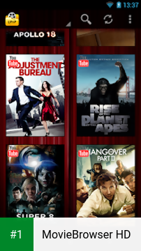 MovieBrowser HD app screenshot 1