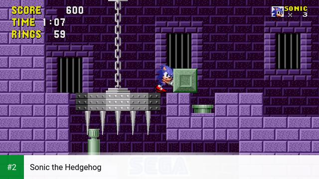 Sonic the Hedgehog apk screenshot 2