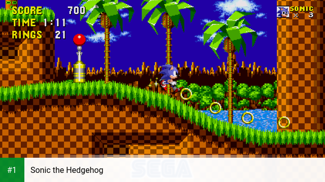 Sonic the Hedgehog app screenshot 1
