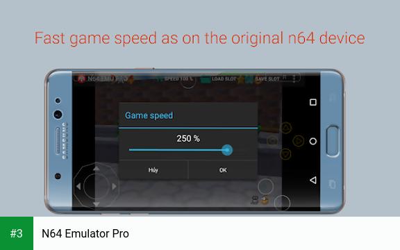 N64 Emulator Pro app screenshot 3