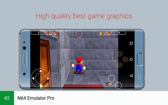 N64 Emulator Pro APK latest version - free download for Android