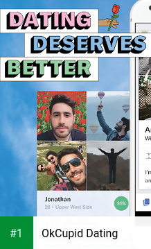OkCupid Dating app screenshot 1