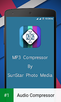 Audio Compressor app screenshot 1