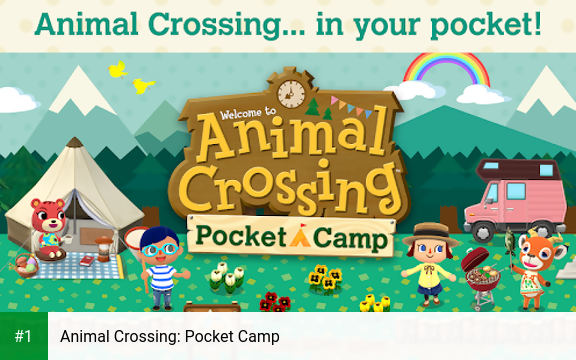 Animal Crossing: Pocket Camp app screenshot 1