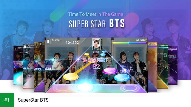 SuperStar BTS app screenshot 1