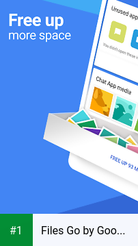 Files Go by Google: Free up space on your phone app screenshot 1