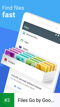 Files Go by Google: Free up space on your phone app screenshot 3
