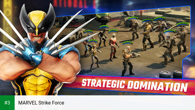 MARVEL Strike Force app screenshot 3