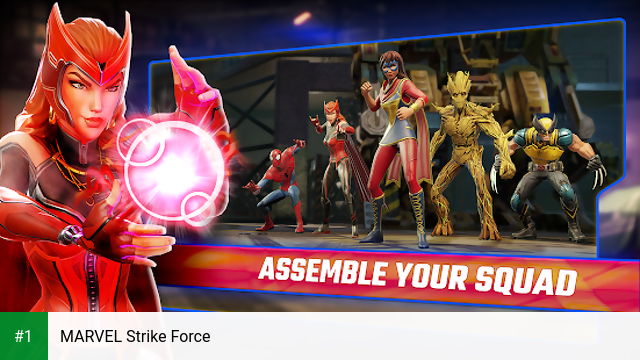 MARVEL Strike Force app screenshot 1