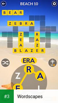 Wordscapes app screenshot 3