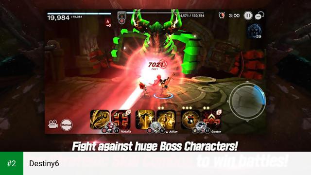 Destiny6 apk screenshot 2