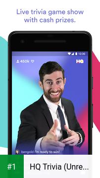 HQ Trivia (Unreleased) app screenshot 1