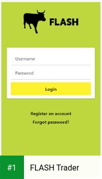 FLASH Trader app screenshot 1