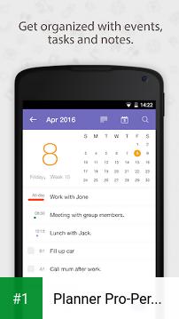 Planner Pro-Personal Organizer app screenshot 1