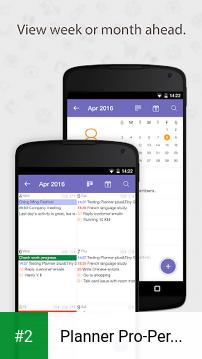 Planner Pro-Personal Organizer apk screenshot 2