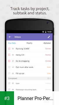 Planner Pro-Personal Organizer app screenshot 3