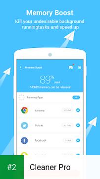 Cleaner Pro apk screenshot 2
