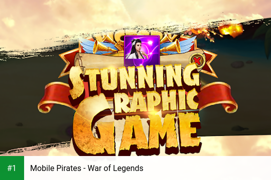 Mobile Pirates - War of Legends app screenshot 1