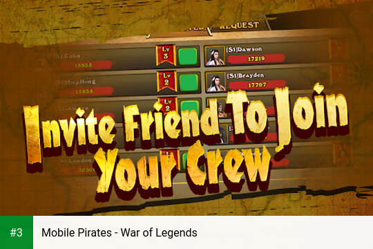 Mobile Pirates - War of Legends app screenshot 3