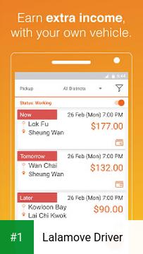 Lalamove Driver app screenshot 1