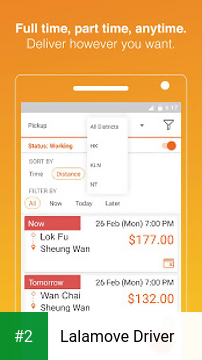 Lalamove Driver apk screenshot 2