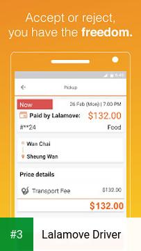 Lalamove Driver app screenshot 3