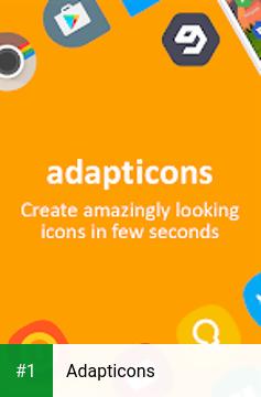 Adapticons app screenshot 1