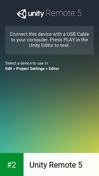 Unity Remote 5 apk screenshot 2