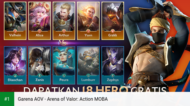 Garena AOV - Arena of Valor: Action MOBA app screenshot 1