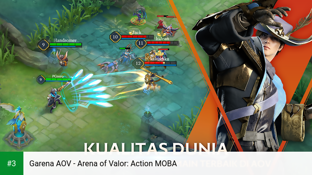 Garena AOV - Arena of Valor: Action MOBA app screenshot 3