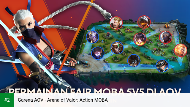 Garena AOV - Arena of Valor: Action MOBA apk screenshot 2