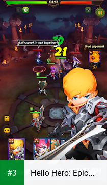 Hello Hero: Epic Battle app screenshot 3