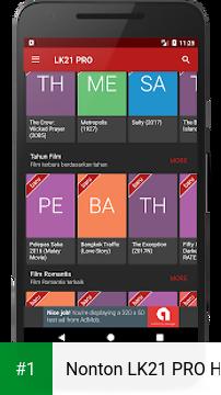 Nonton LK21 PRO HD app screenshot 1
