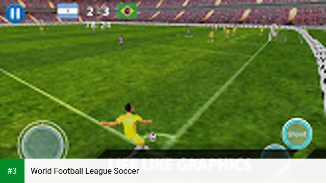 World Football League Soccer app screenshot 3