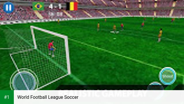 World Football League Soccer app screenshot 1
