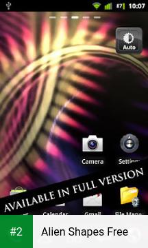 Alien Shapes Free apk screenshot 2