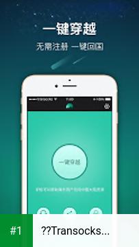 穿梭Transocks-帮助海外华人访问国内应用的VPN app screenshot 1