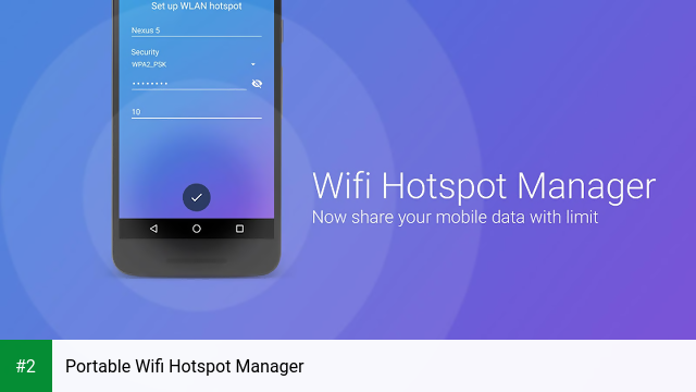 Portable Wifi Hotspot Manager APK latest version - free download for