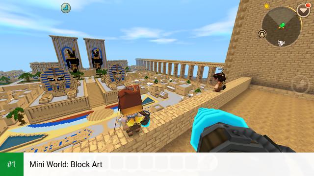 Mini World: Block Art app screenshot 1