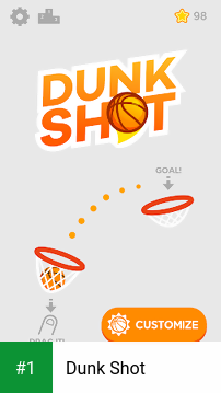 Dunk Shot app screenshot 1
