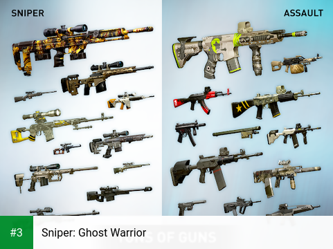 Sniper: Ghost Warrior app screenshot 3
