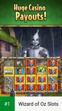Wizard of Oz Slots app screenshot 1