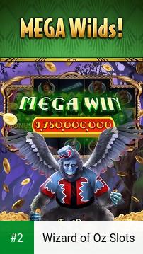 Wizard of Oz Slots apk screenshot 2