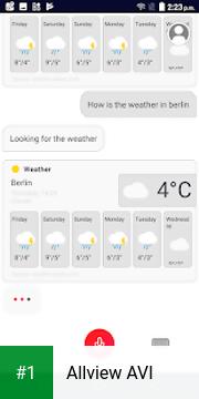 Allview AVI app screenshot 1