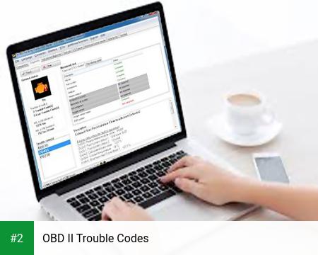 OBD II Trouble Codes apk screenshot 2